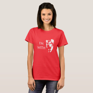 I'm With Donald - I'm With Trump! T-Shirt