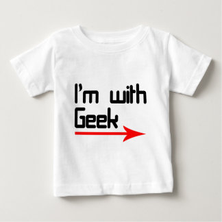 Im with geek baby T-Shirt