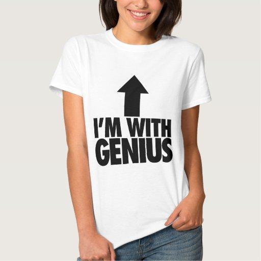 Im With Genius Shirt