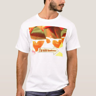 I'm with handsome T.shirt T-Shirt