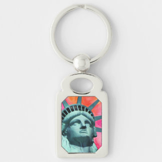 I'm with her - Lady Liberty - Statue of Liberty Key Ring