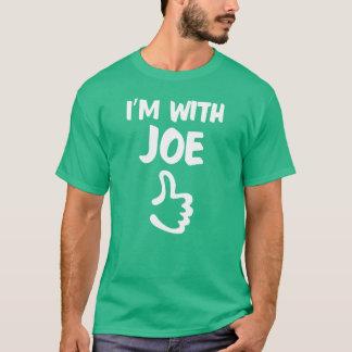 I'm With Joe shirt - Kelly Green