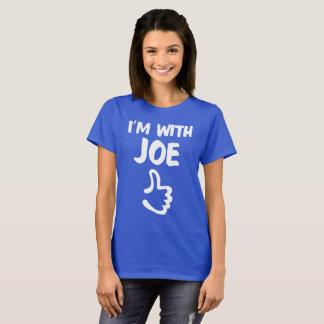 I'm With Joe Woman's shirt - Deep Royal