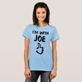 I'm With Joe Woman's shirt - Light Blue