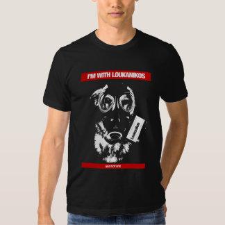 I'm with Loukanikos AKA riot dog dark Tshirt