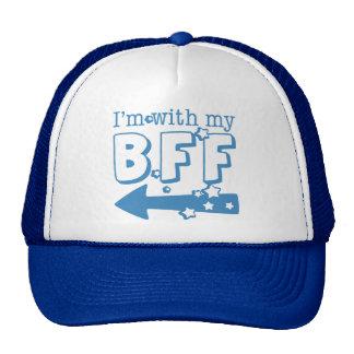 I'm With My BFF (left) Cap