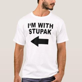 I'm With Stupak T-Shirt