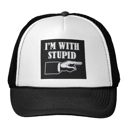 Im-With-Stupid Mesh Hat