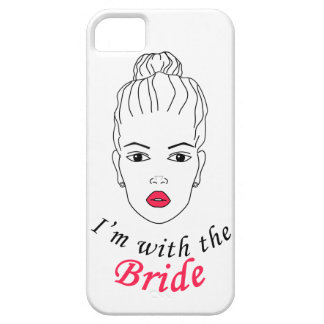 I'm with the Bride Barely There iPhone 5 Case