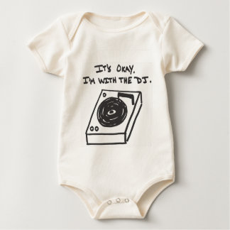 I'm With the DJ Baby Bodysuit