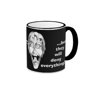 I'm with the Government... Ringer Mug
