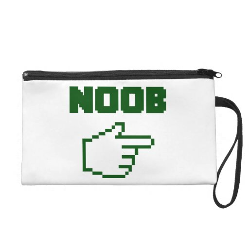 I'm With The Noob Newbie Wristlet Clutches