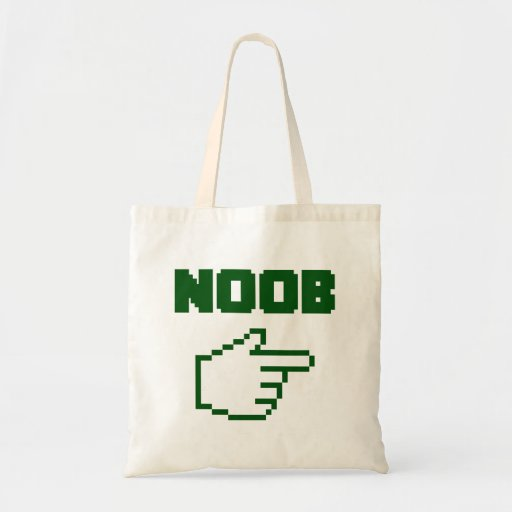 I'm With The Noob Newbie Canvas Bag