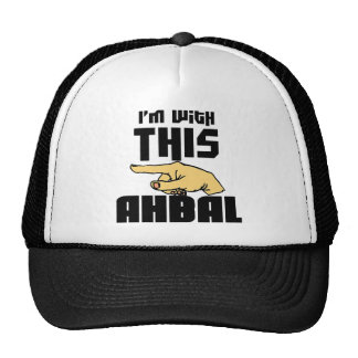 I'm With This Ahbal Cap