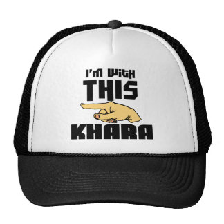 I'm With This Khara Cap