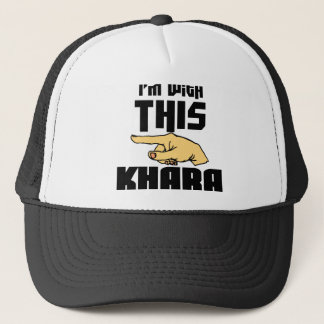 I'm With This Khara Trucker Hat
