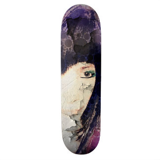 I'm with Wig Purple Skateboard