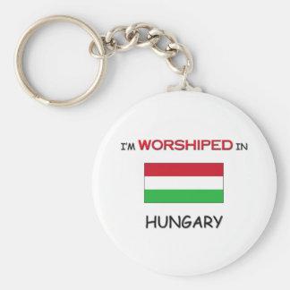 I'm Worshiped In HUNGARY Key Ring
