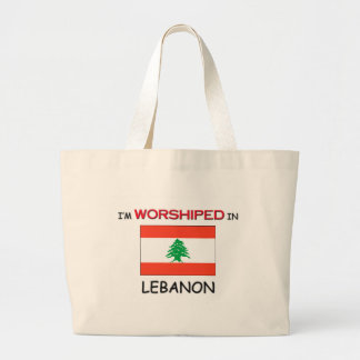 I'm Worshiped In LEBANON Large Tote Bag