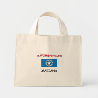 I'm Worshiped In MARIANA Canvas Bags