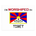 I'm Worshipped In TIBET Post Cards