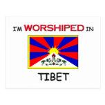 I'm Worshipped In TIBET Postcard