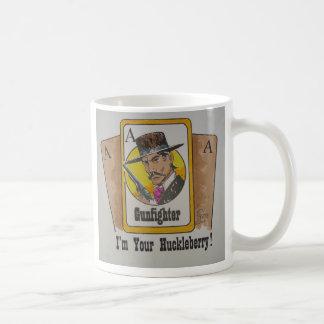 I'm Your Huckelberry Coffee Mugs