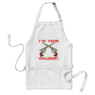 I'm Your Huckleberry 6 Guns Standard Apron