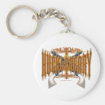 I'm Your Huckleberry Basic Round Button Key Ring