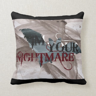 Im Your Nightmare Throw Cushions