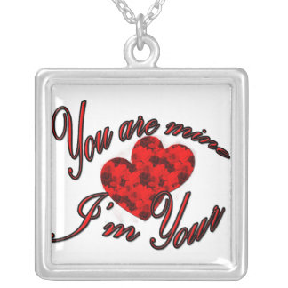 i'm your square pendant necklace