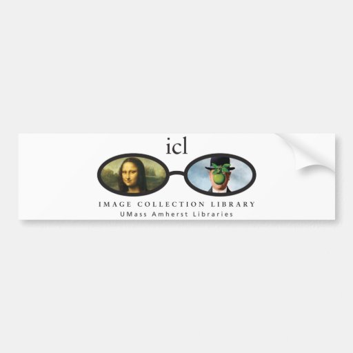 Image Collection Library Bumper Stickers