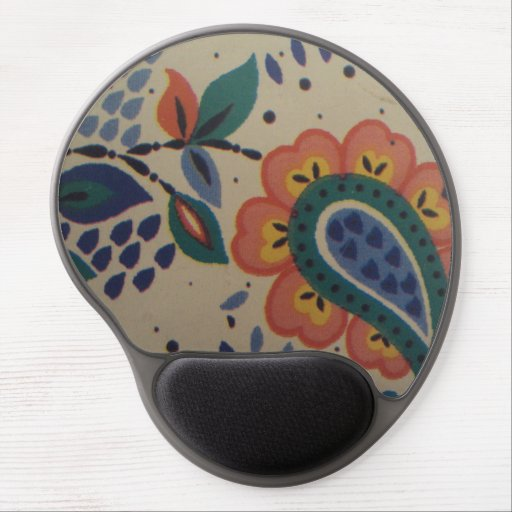 image flower in heart form gel mouse pads