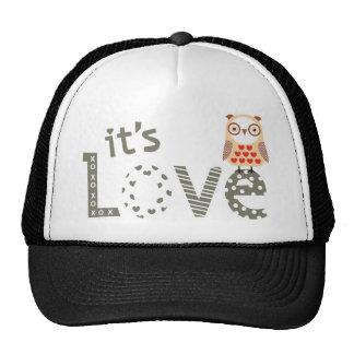 image it's love trucker hat