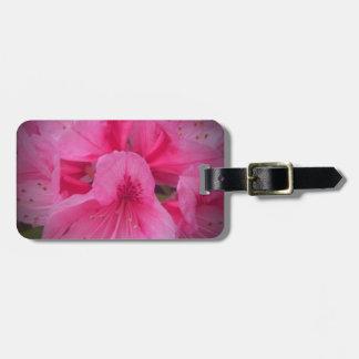 image.jpegpink flower luggage tag