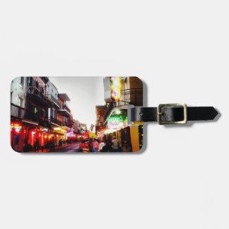 image.jpg New Orleans night life Luggage Tag