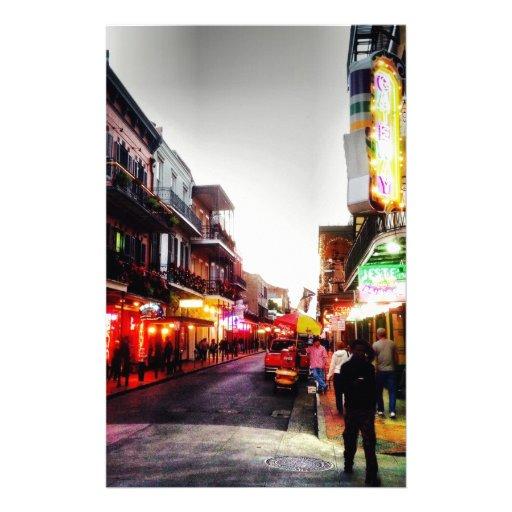 image.jpg New Orleans night life Stationery