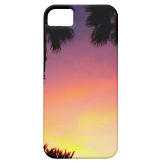 image.jpg palm trees sunset pacific coast CA iPhone 5 Cover