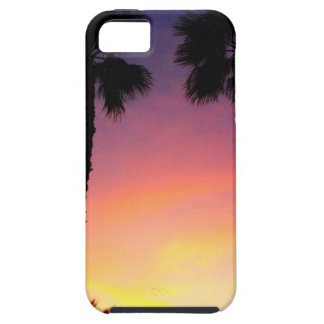 image.jpg palm trees sunset pacific coast CA iPhone 5 Covers