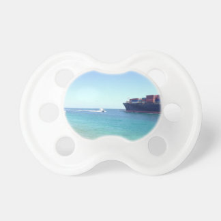 image.jpg south beach Miami Florida ocean and ship Baby Pacifiers