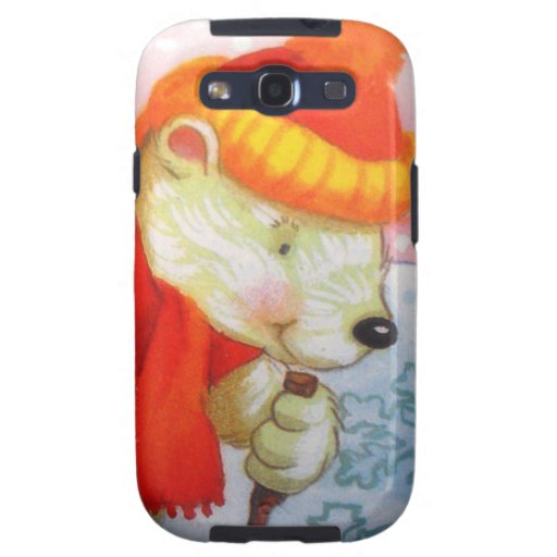 image of a bear samsung galaxy s3 cases