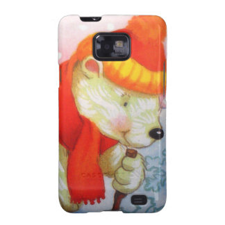 image of a bear galaxy s2 cases