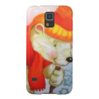 image of a bear galaxy s5 cover