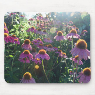 Image of a bunch of purple flowers mouse pad
