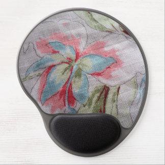 image of a flower gel mouse pad