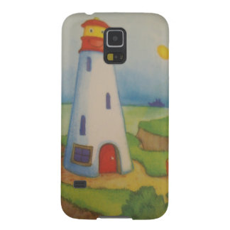 image of a lighthouse galaxy s5 cover