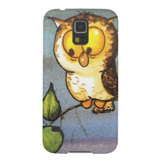 image of a owl galaxy s5 case