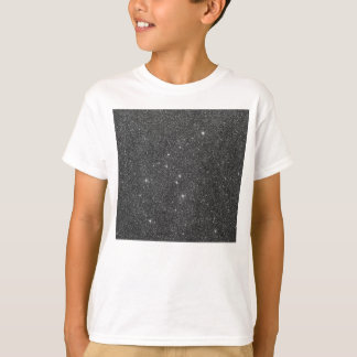 Image of Black and Grey Glitter T-Shirt