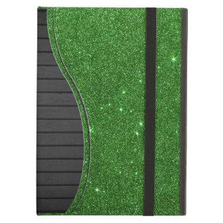 Image of Bright Green Glitter iPad Air Case