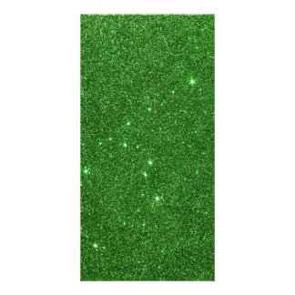 Image of Bright Green Glitter Photo Cards